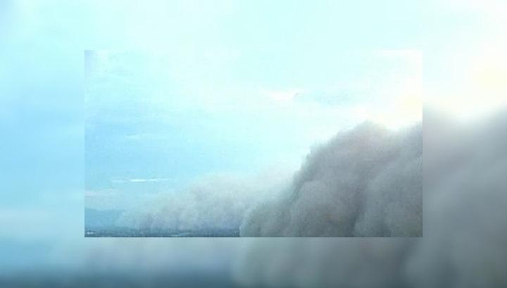 Американский штат Аризона накрыла сильнейшая песчаная буря