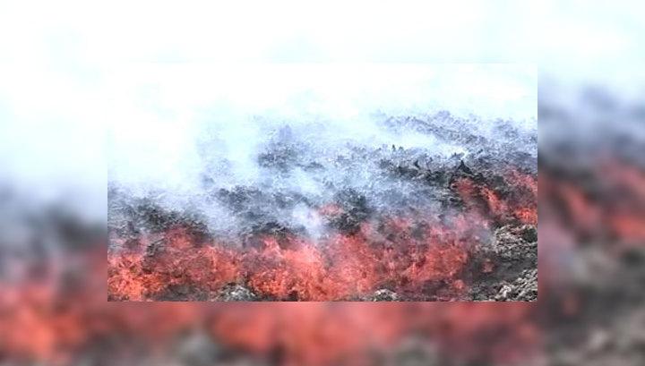 Извержение Этны прервало авиасообщение с Сицилией