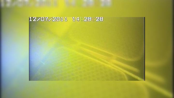 """Первое видео с затонувшей """"Булгарии"""": теплоход качает, видимость низкая"""