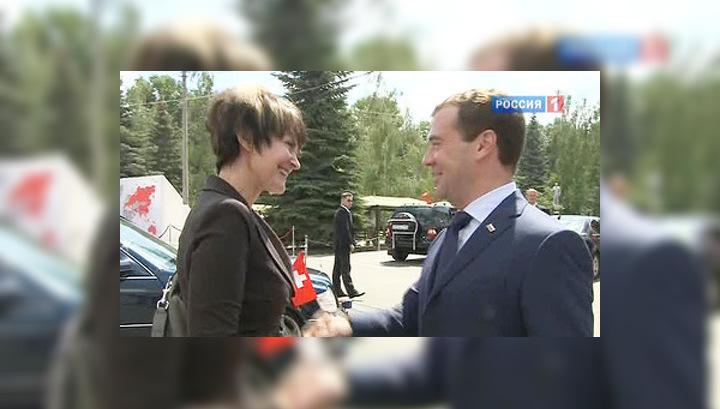 """Россия и Швейцария """"зацементировали"""" отношения"""