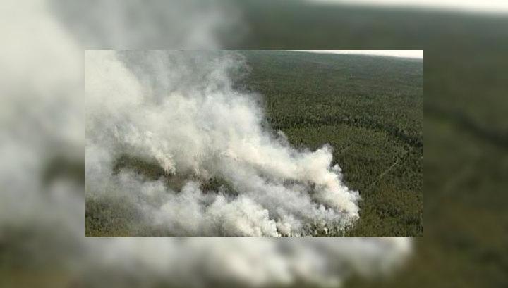 Пожары в Архангельской области потушат десантники-парашютисты