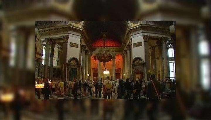 В Петербурге реставрируют Казанский собор