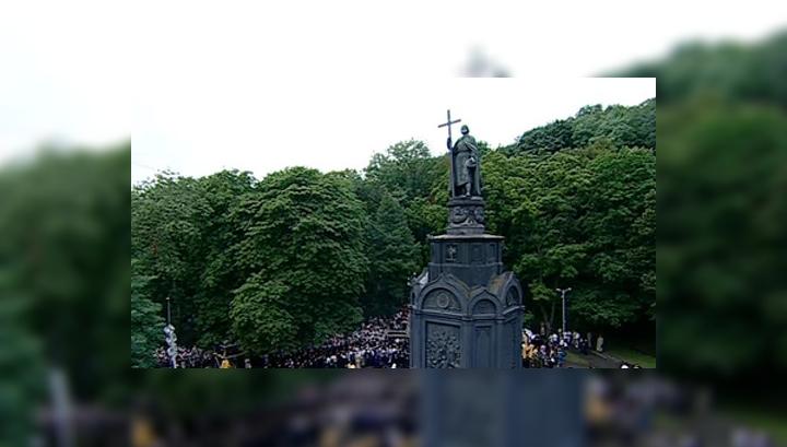 В Москве, Киеве и Минске отметят День Крещения Руси
