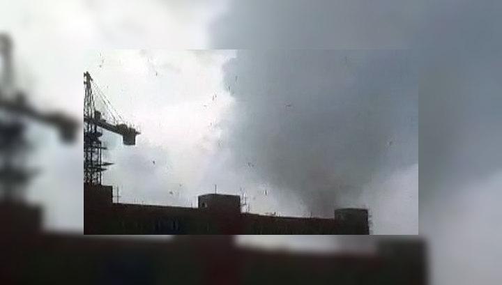 В Благовещенске ликвидируют последствия мощного урагана