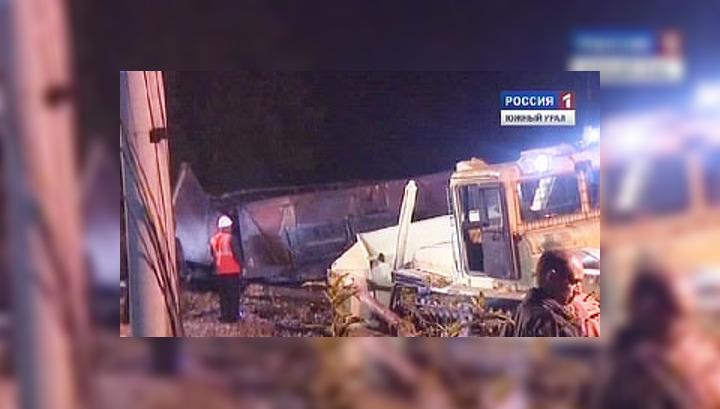 В Челябинской области столкнулись два грузовых поезда, есть погибшие