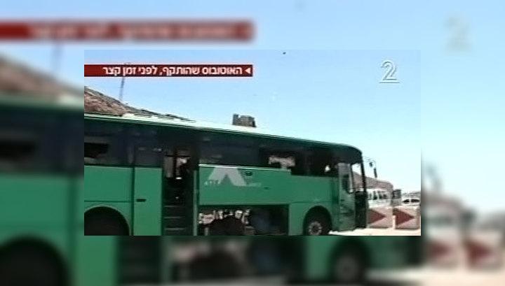 В Израиле обстрелян туристический автобус
