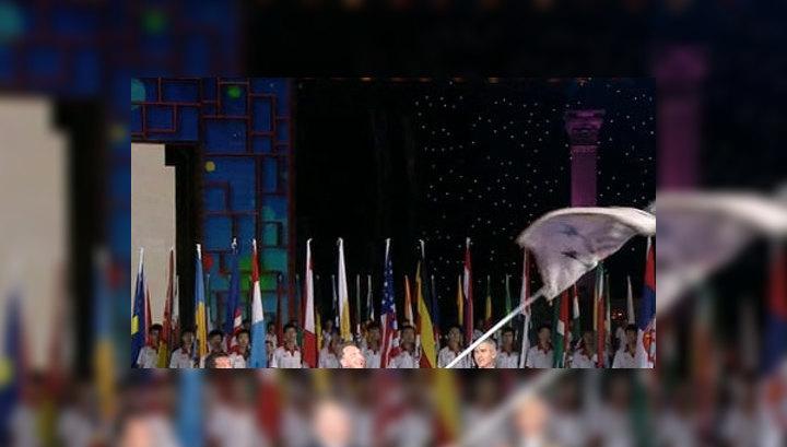 Казань встречает флаг Универсиады