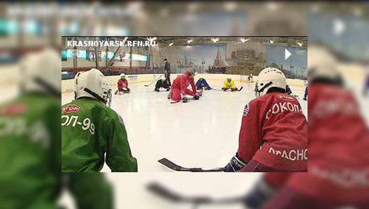 "Александр Сёмин провёл мастер-класс для юных хоккеистов ""Сокола"""