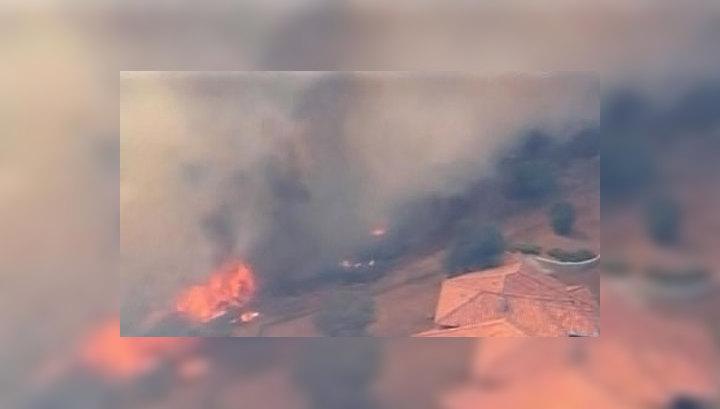 Пожар в США охватил более 13 тысяч гектаров леса