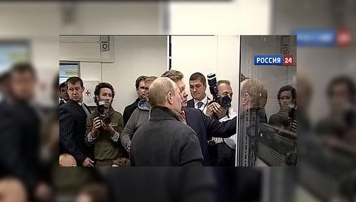 """Путин дал старт подаче газа на морской участок """"Северного потока"""""""