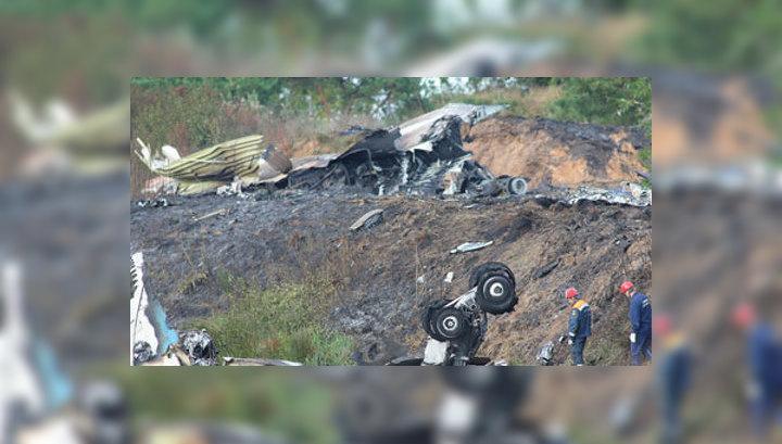 СК: версия теракта в крушении Як-42 под Ярославлем исключена
