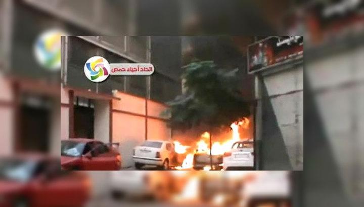 Сирийские войска штурмуют мятежный Хомс