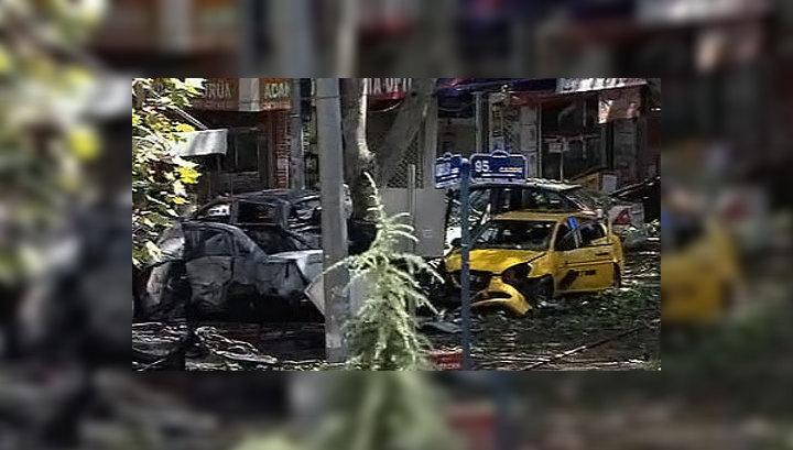 Взрыв в Анкаре: полиция задержала подозреваемого