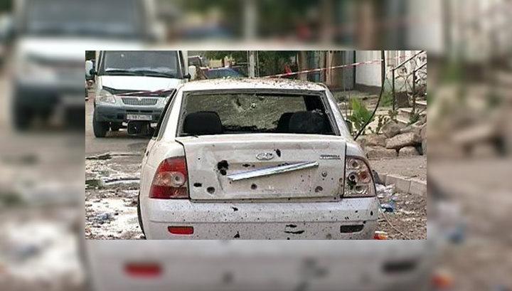Взрыв в Махачкале: осколки бомбы изрешетили всё вокруг