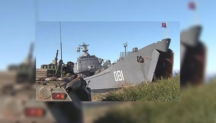 В Средиземное море отправились российские десантные корабли