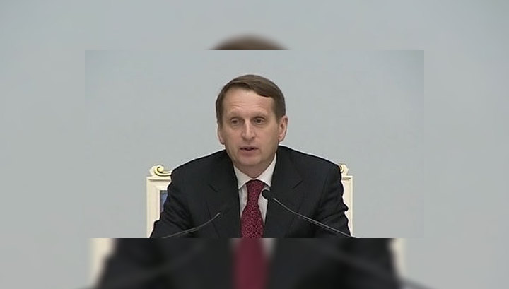 Нарышкин: Лужков отправлен в отставку из-за неэффективности и коррупции