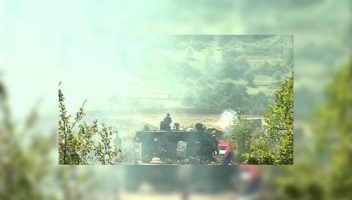 В Косове натовцы открыли по сербам огонь