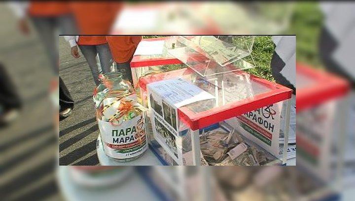 По Уфе курсировал благотворительный троллейбус