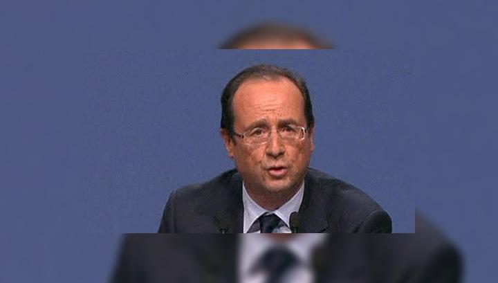 Разрыв между Олландом и Саркози сократился до 1 процента