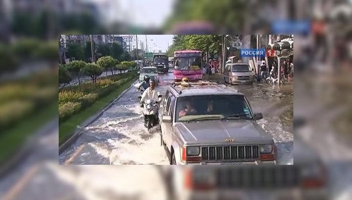 Бангкок затопило сточными водами