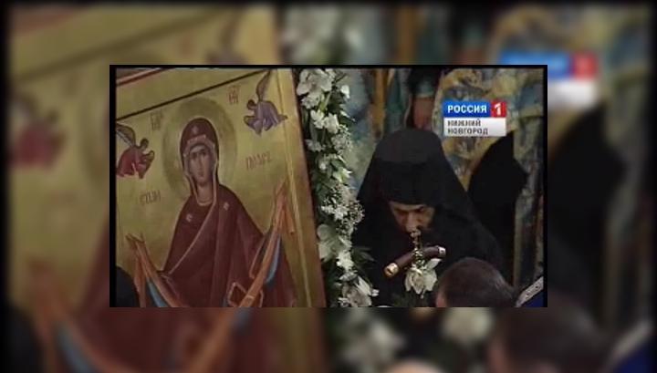 Пояс Пресвятой Богородицы побывает в Нижнем Новгороде