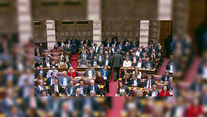 Греция приняла госбюджет жесткой экономии на 2012 год