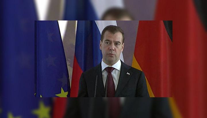 Медведев: присоединение России к ВТО неизбежно
