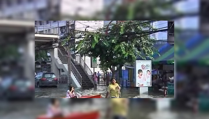 Число жертв наводнений в Таиланде возросло до 616 человек