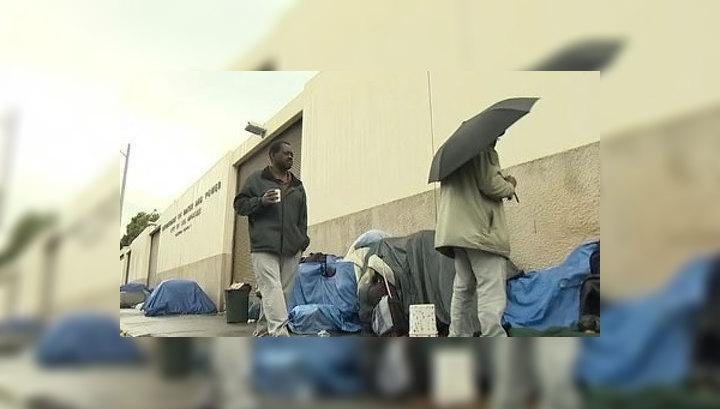 В США количество бездомных побило все рекорды