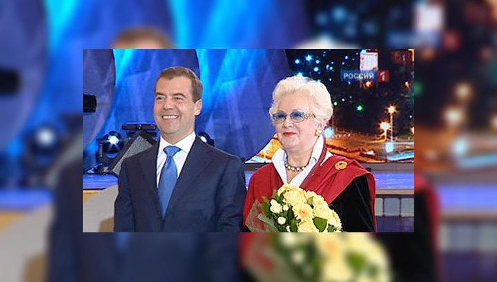 В Кремле наградили заслуженных телевизионщиков