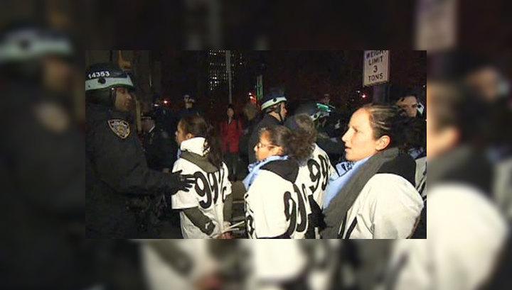 """Уолл-стрит не сдается: более 270 """"захватчиков""""  арестованы"""