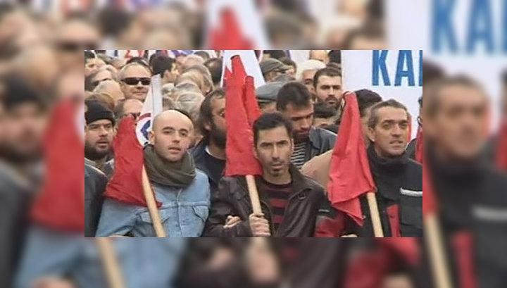 В Греции снова бастуют