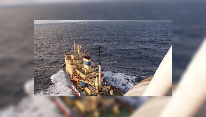 Фото со дна охотского моря платформа кольская