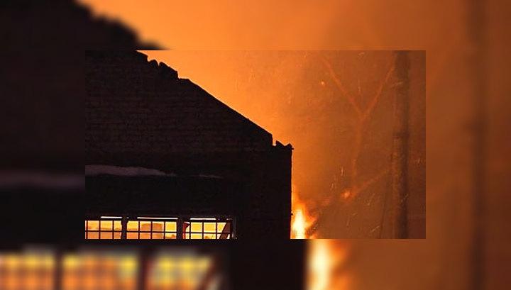 В дагестанском селе охвачены огнем десятки домов