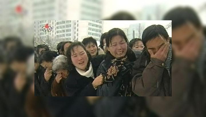 Жители Северной Кореи скорбят по Ким Чен Иру