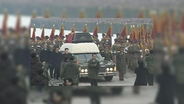 Ким Чен Ира похоронят так же, как Ким Ир Сена