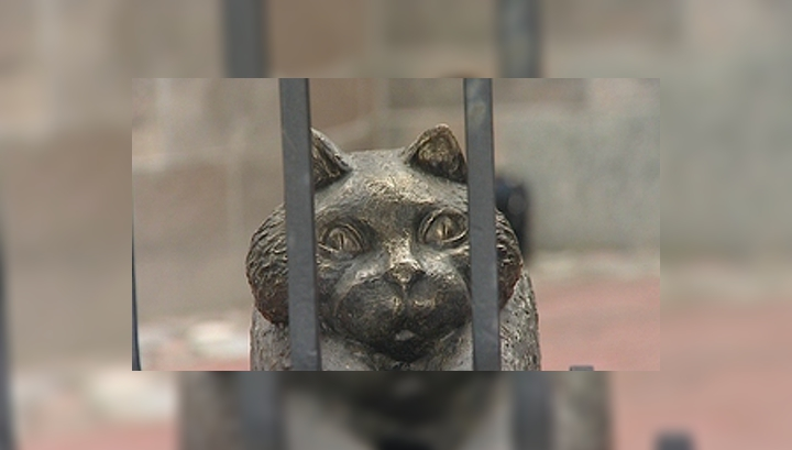 Во Фридрихсбургских воротах поселился кенигсбергский Кот