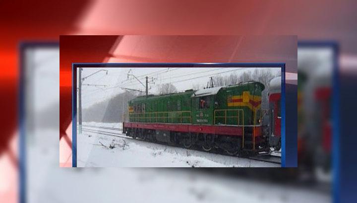 Поезд, столкнувшийся с грузовиком, возобновил движение в Москву