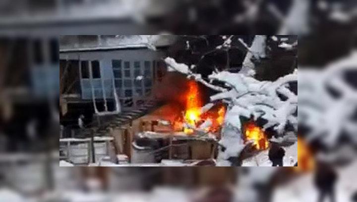 Пожар в московском ресторане Il Pittore ликвидирован