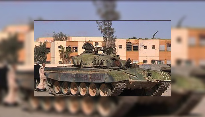 Силы ПНС готовятся к штурму Бани-Валида