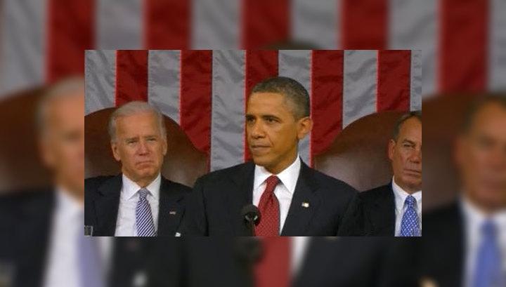 Послание Конгрессу: Обама представил свою предвыборную программу