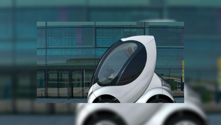 """Пробег """"малыша"""" между зарядками составит 120 километров, а скорость будет ограничена электронными датчиками, которые заставят владельца соблюдать правила дорожного движения (иллюстрация Hiriko)."""