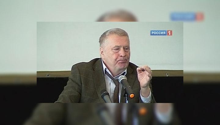Жириновский рассказал про ослика, науку и символы