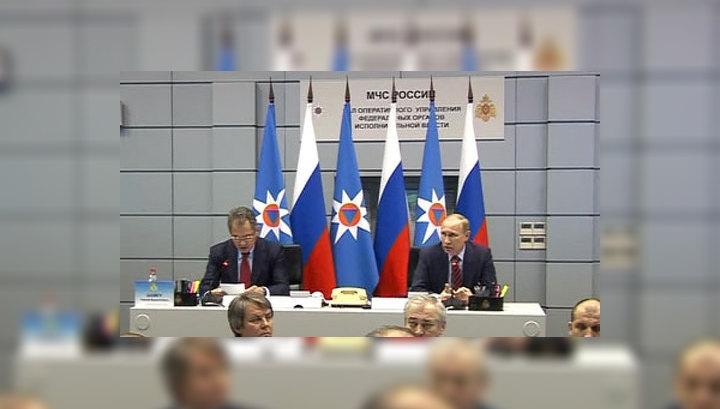 Путин недоволен работой главы Удмуртии по ликвидации последствий взрывов арсенала