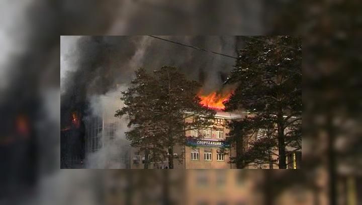 Допрошен владелец сгоревшего в Лесосибирске ТРЦ