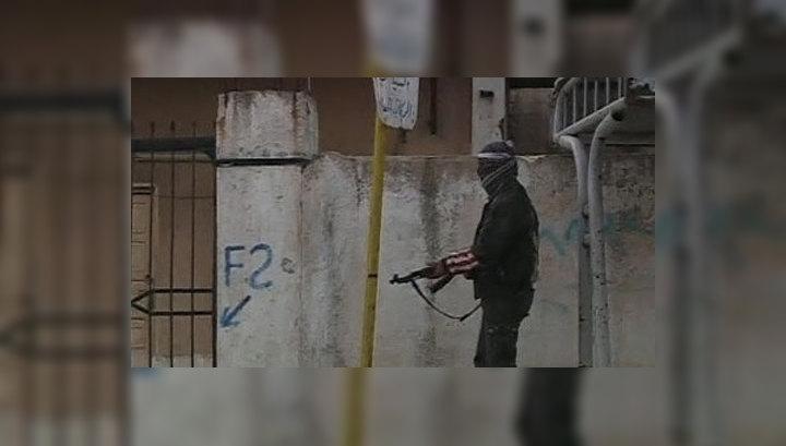 Сирийская армия во время операции в Хомсе задержала французских военных