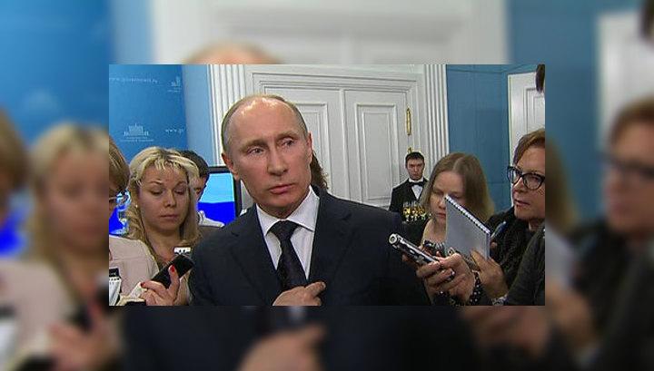 Путин ответил на вопросы про оппозицию, отношения с Грузией и панк-молебен