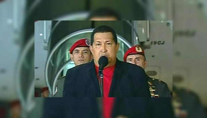"""Разделение властей: """"выздоравливающий"""" Уго Чавес передал преемнику часть полномочий"""