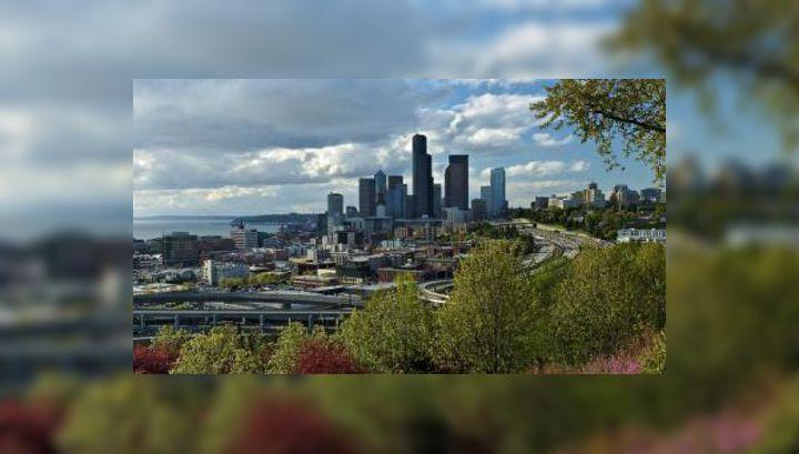 Вид на Сиэтл с Бикон-Хилл