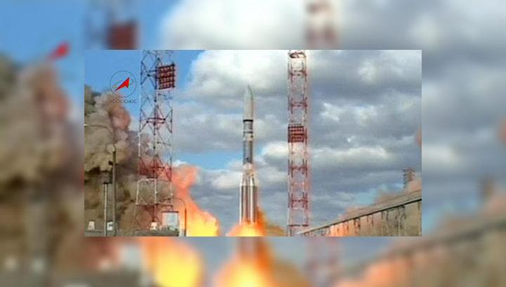"""Американский спутник Intelsat успешно отделился от """"Протона"""""""